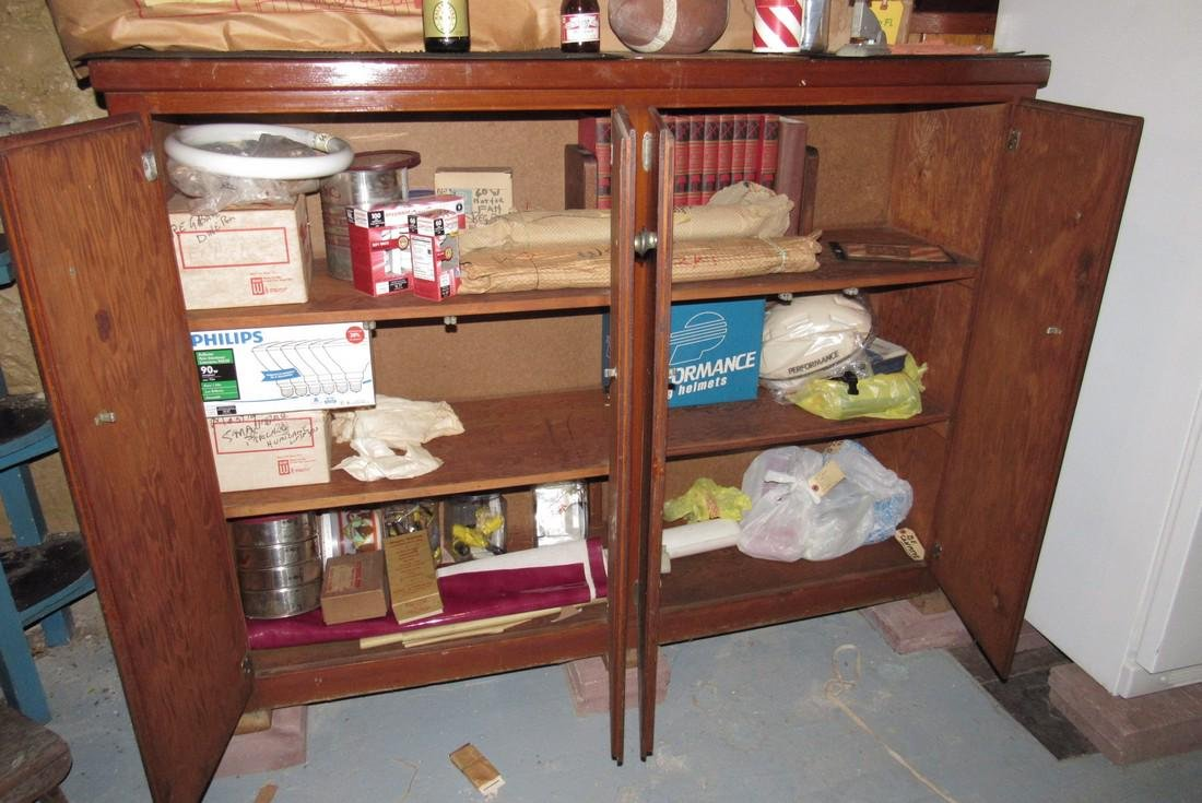 Cabinet & Contents - 2
