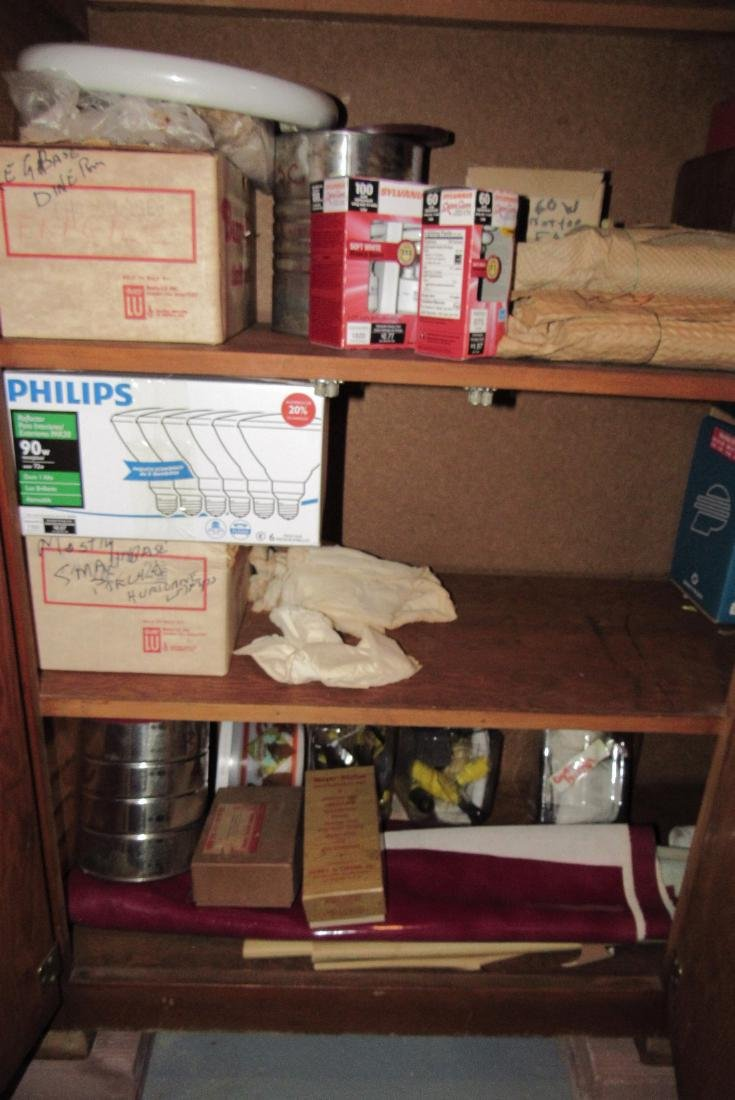 Cabinet & Contents - 3