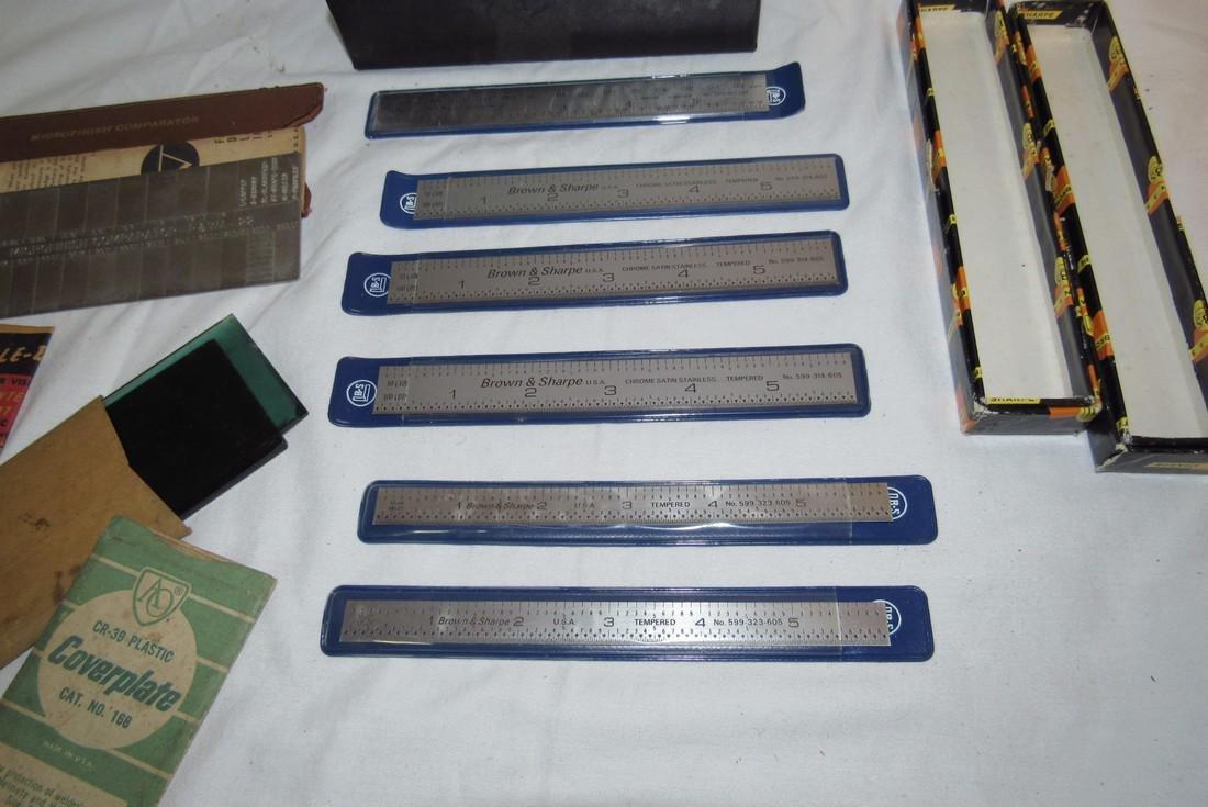 Brown & Sharpe Steel Rules No. 599-314-605 599-323-605 - 4