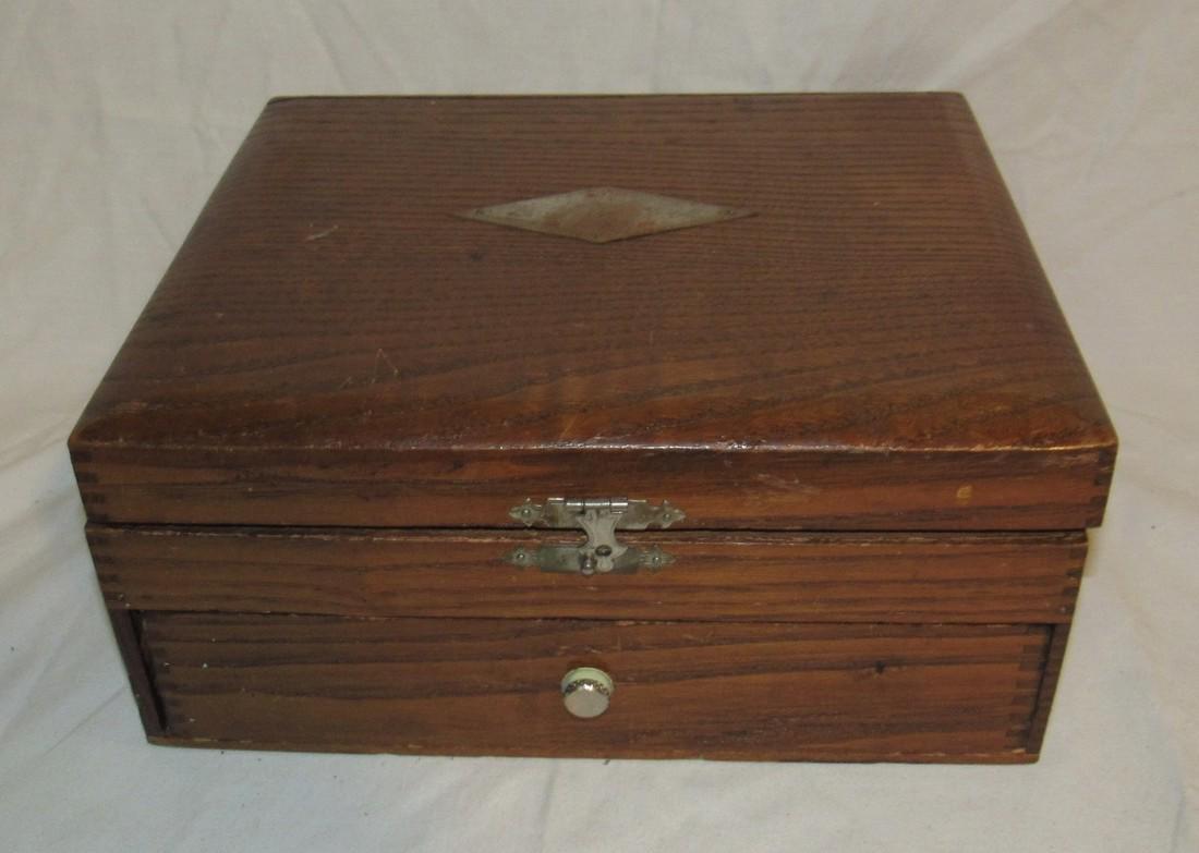 Oak Document / Shaving Box