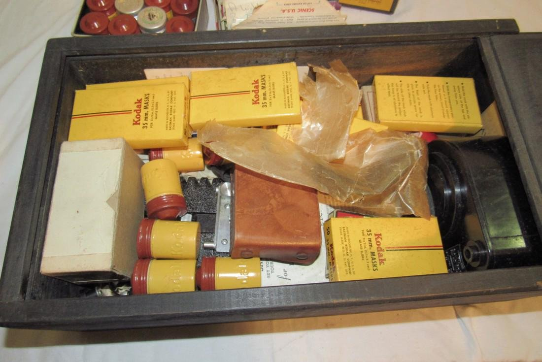 2 View Masters Kodak Thermount Iron & Photo Supplies - 2