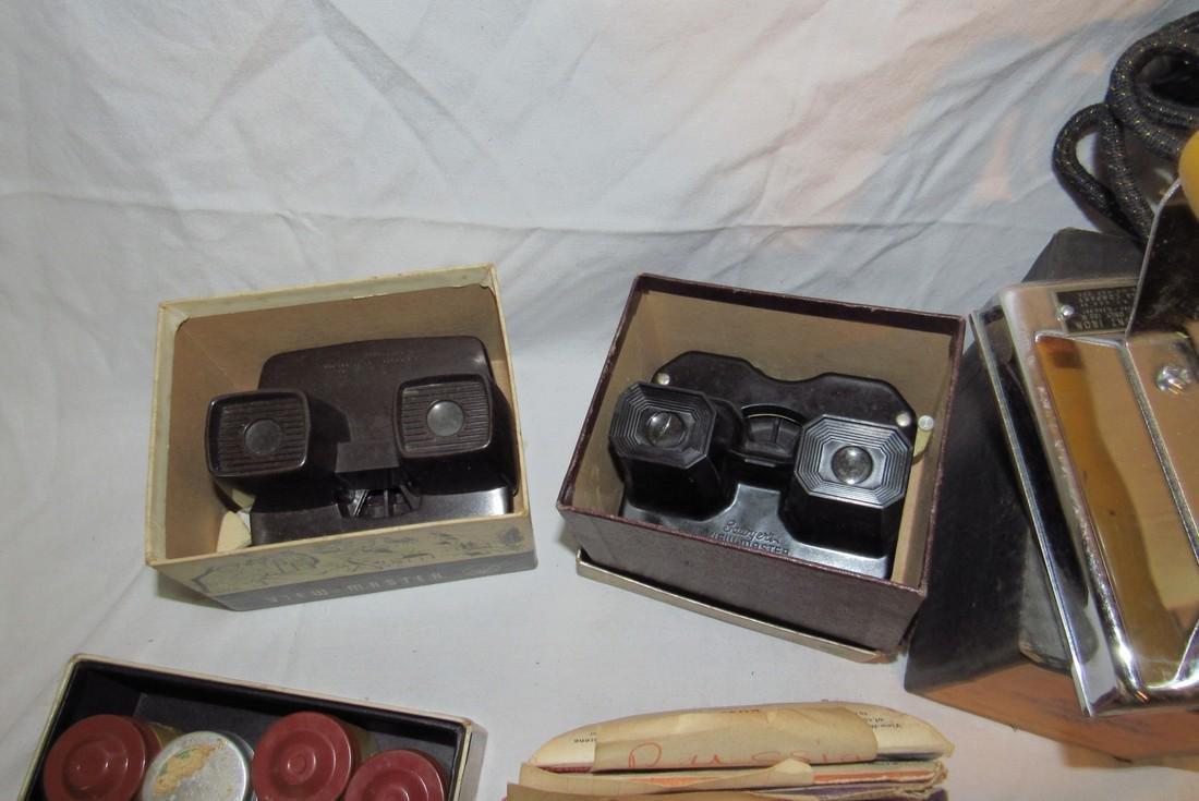 2 View Masters Kodak Thermount Iron & Photo Supplies - 4