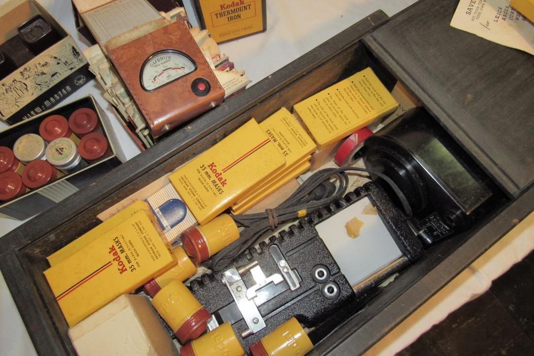 2 View Masters Kodak Thermount Iron & Photo Supplies - 5