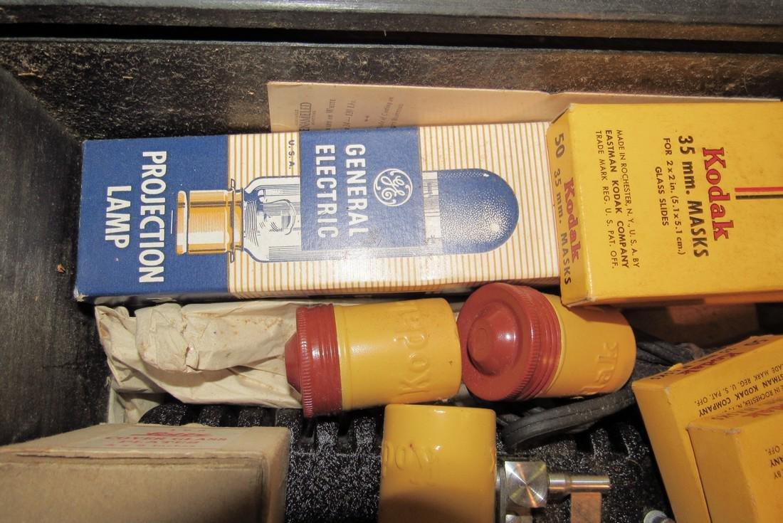 2 View Masters Kodak Thermount Iron & Photo Supplies - 6