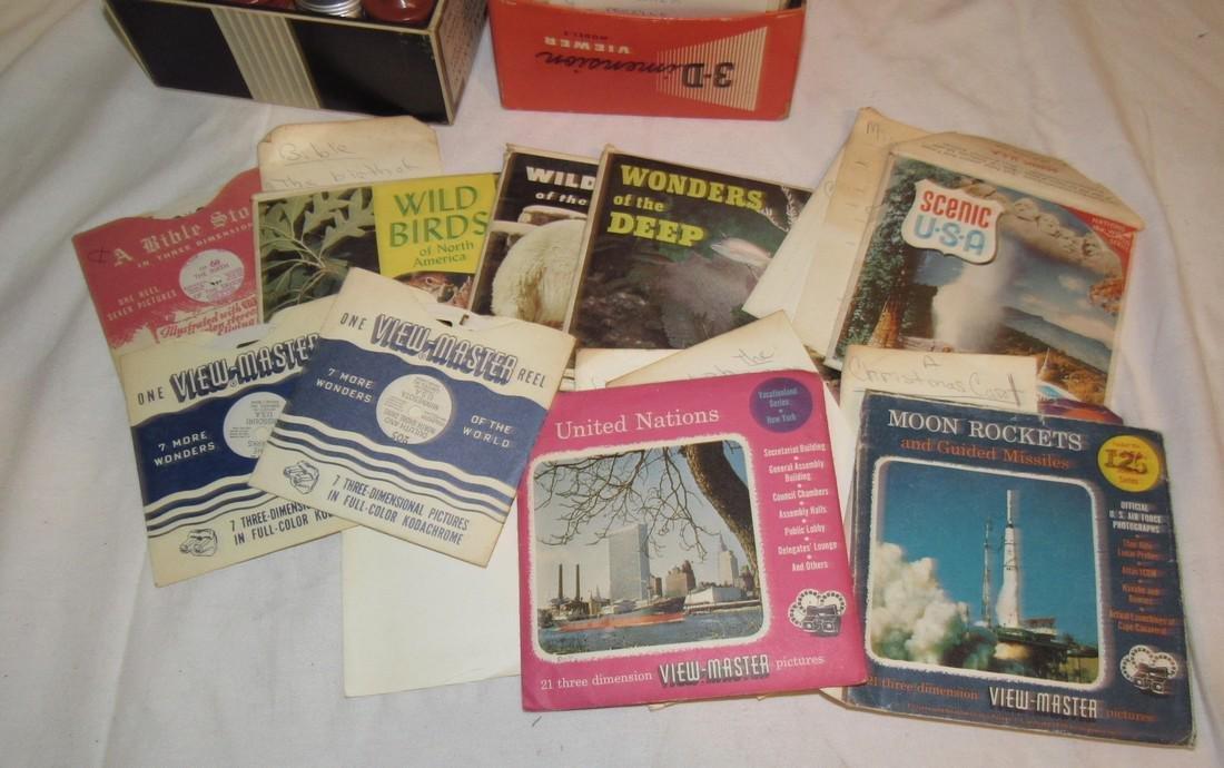 2 View Masters Kodak Thermount Iron & Photo Supplies - 7