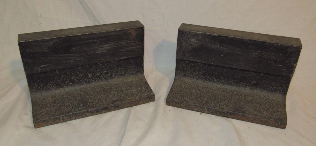 2 Steel Beam Anvils