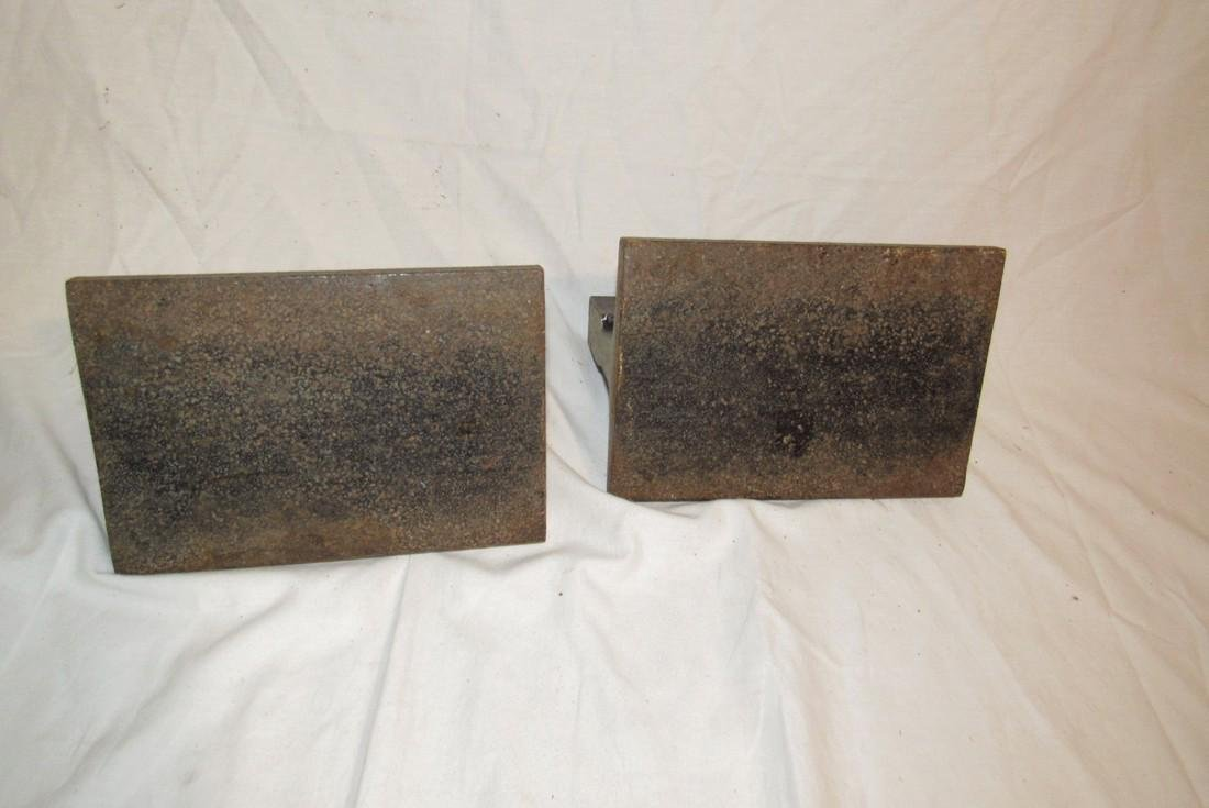2 Steel Beam Anvils - 3