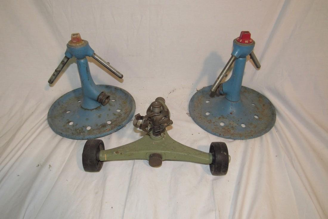3 Vintage Water Sprinklers