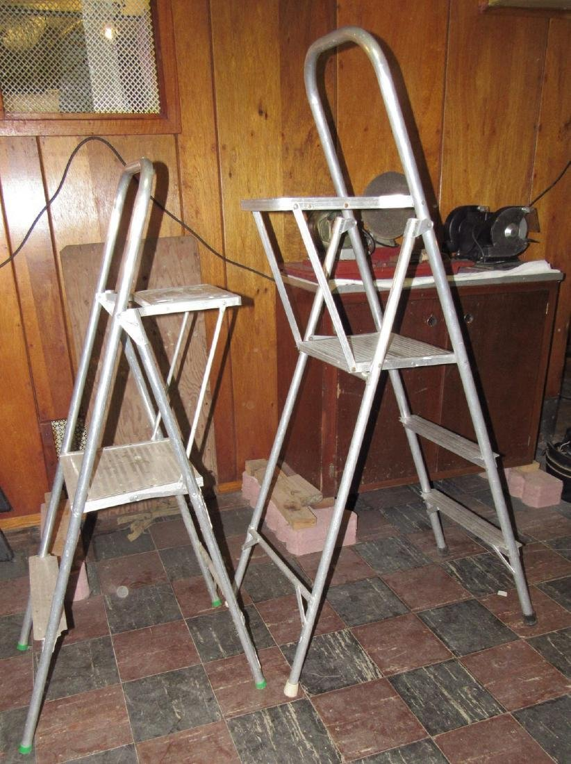 2' & 3' Aluminum Step Ladders