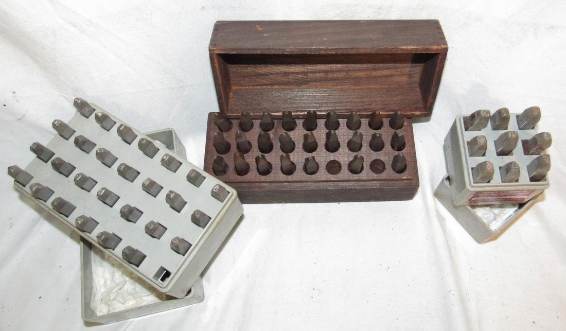 Matthews Letters & Numbers Steel Stamps & Antique - 2