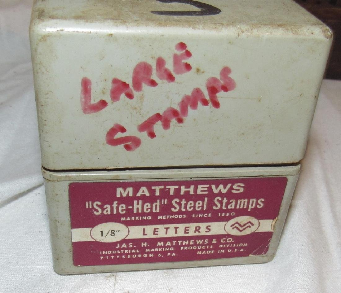 Matthews Letters & Numbers Steel Stamps & Antique - 3
