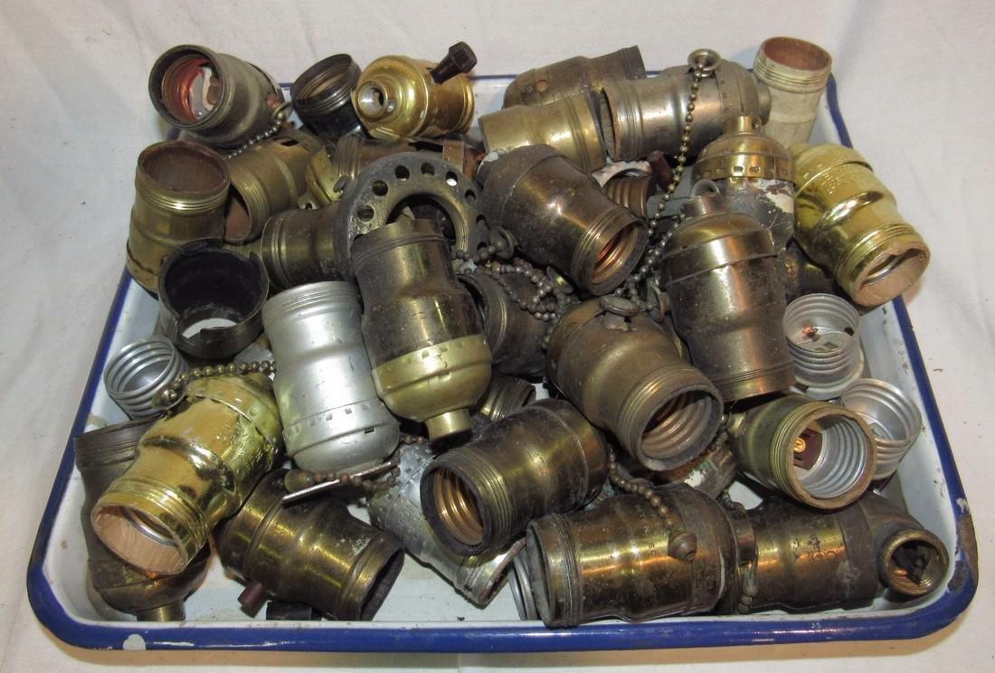 Antique & Vintage Light Socket Outlet Parts