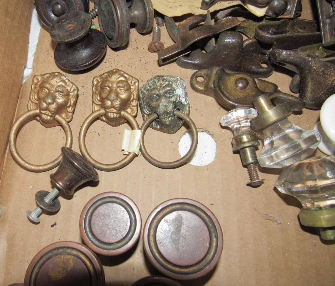 Brass Drawer Knobs Sash Locks Hinges Pulls Hardware - 4