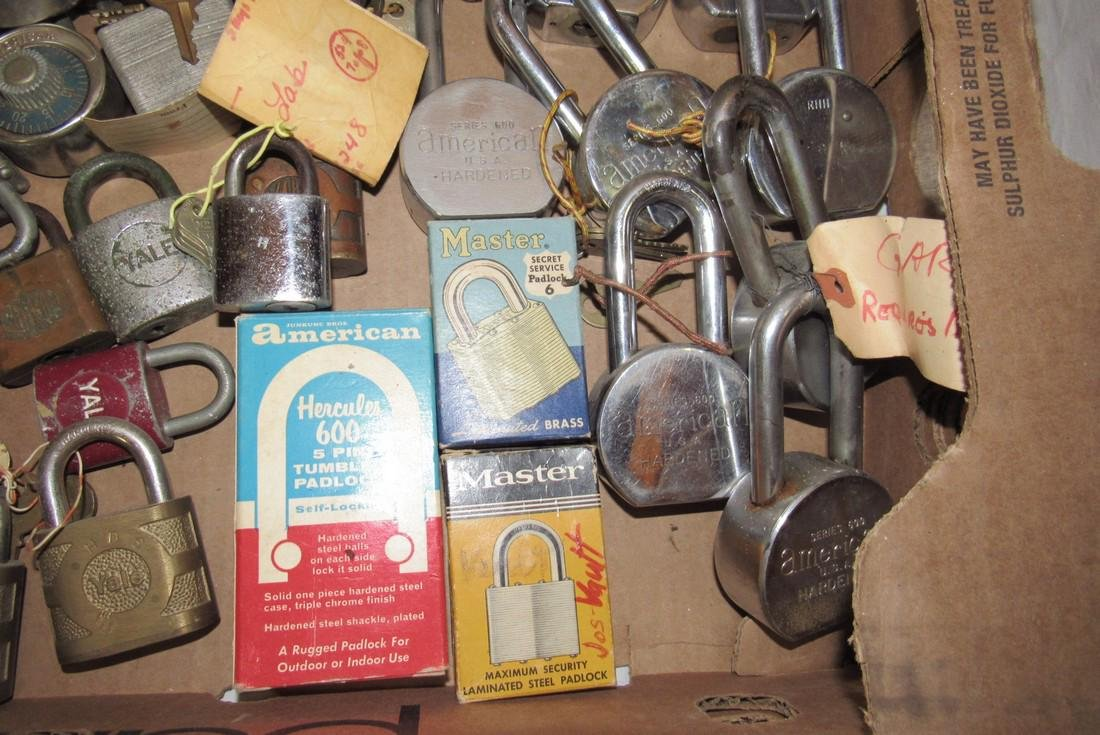 Lot of Vintage Locks - 4