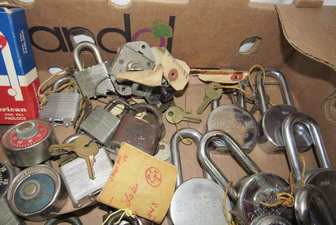 Lot of Vintage Locks - 5