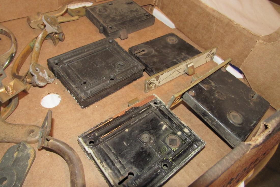 Drawer Pulls Door Locks Misc Antique Vintage Hardware - 3