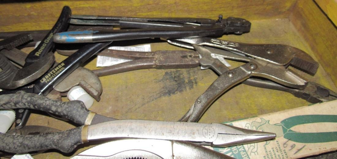 Channel Locks Snips Pliers Snips Antique Tool Box - 6