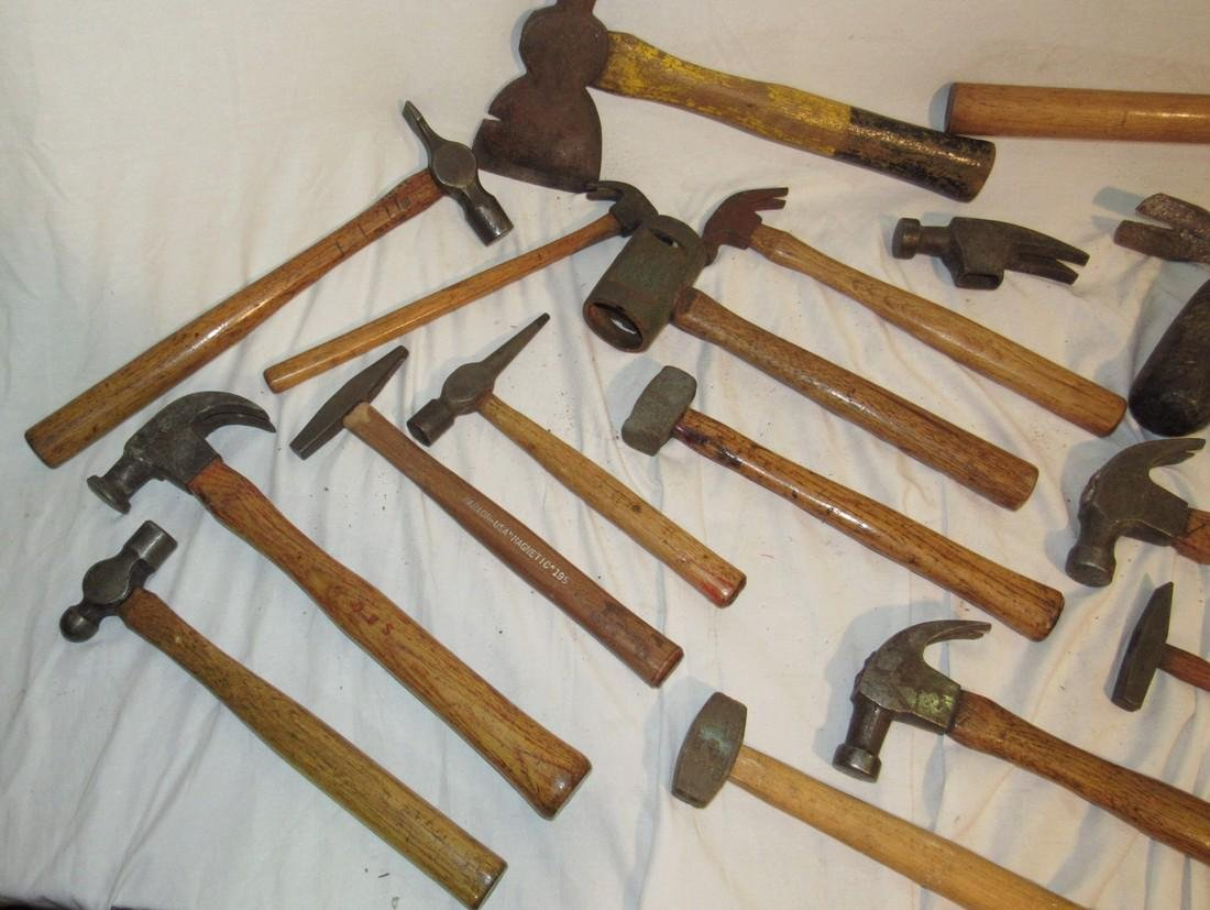 Antique Vintage Axes Hammers & Mallets - 2