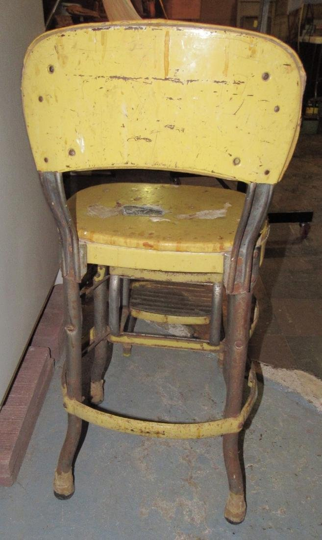 Vintage Step Stool Chair - 3