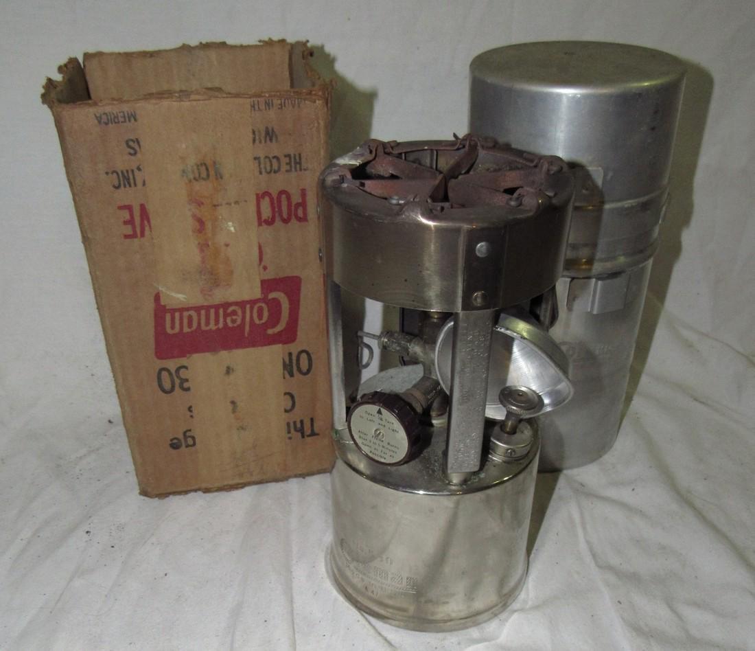 Vintage Coleman 530 Pocket Stove