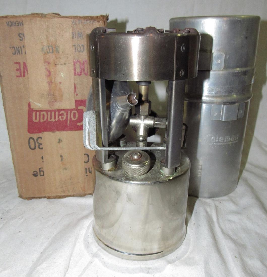 Vintage Coleman 530 Pocket Stove - 2
