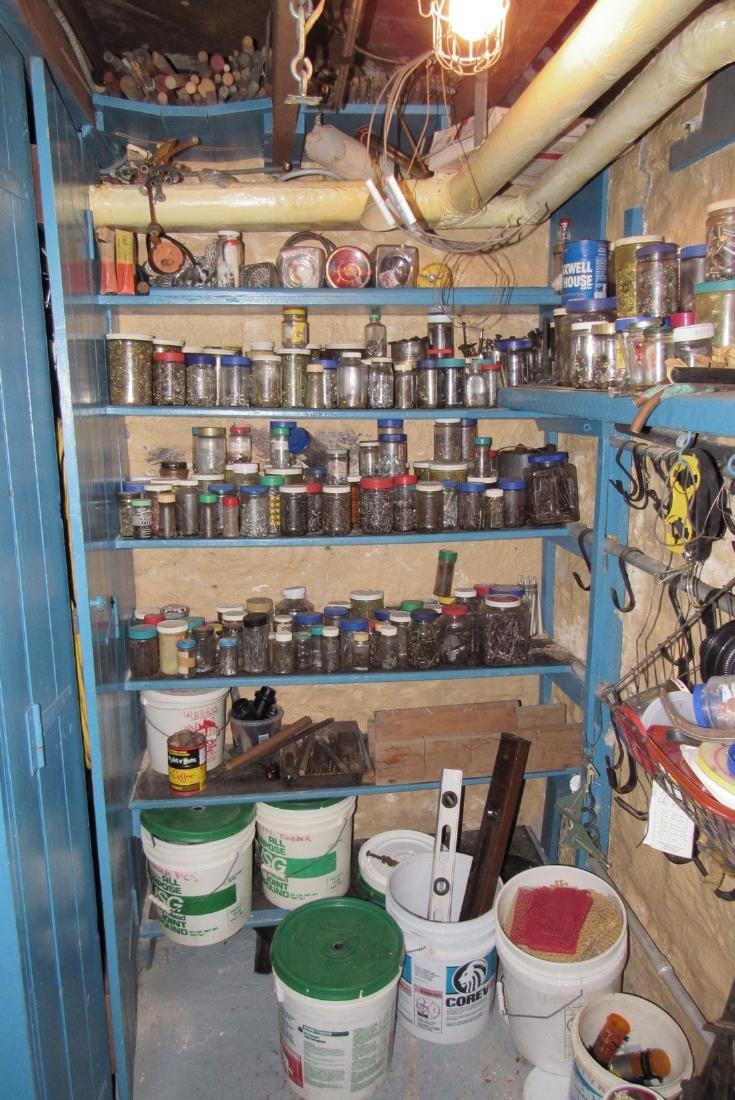 Parts Hardware Room Contents Saws Garden Tools