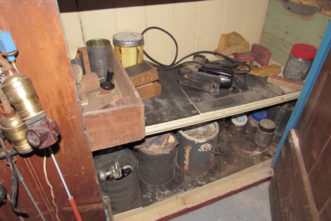 Parts Hardware Room Contents Saws Garden Tools - 3
