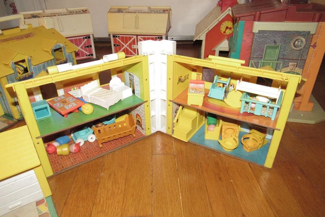 Fisher Price Family Play Farms School House & - 4