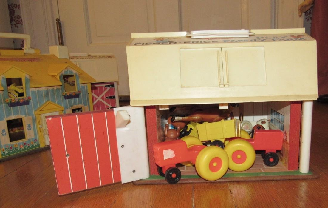Fisher Price Family Play Farms School House & - 7