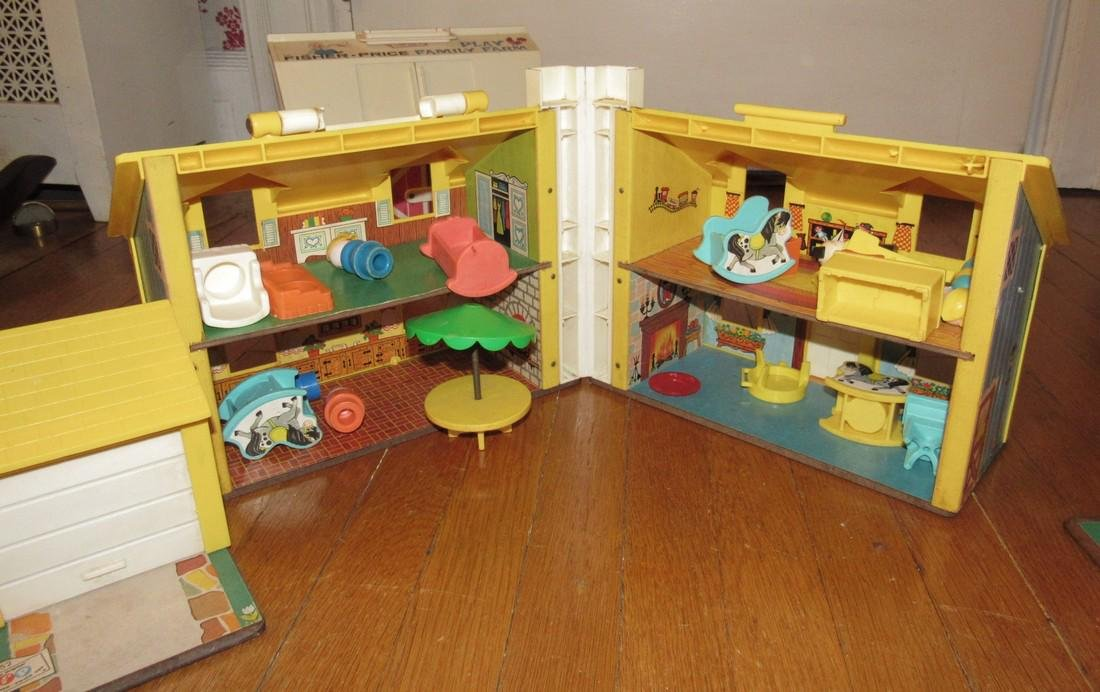 Fisher Price Family Play Farms School House & - 8