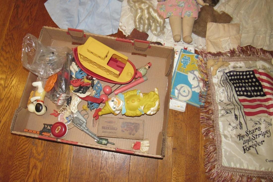 Dolls Clothes Toys Stars Stripes Pillow Case - 2