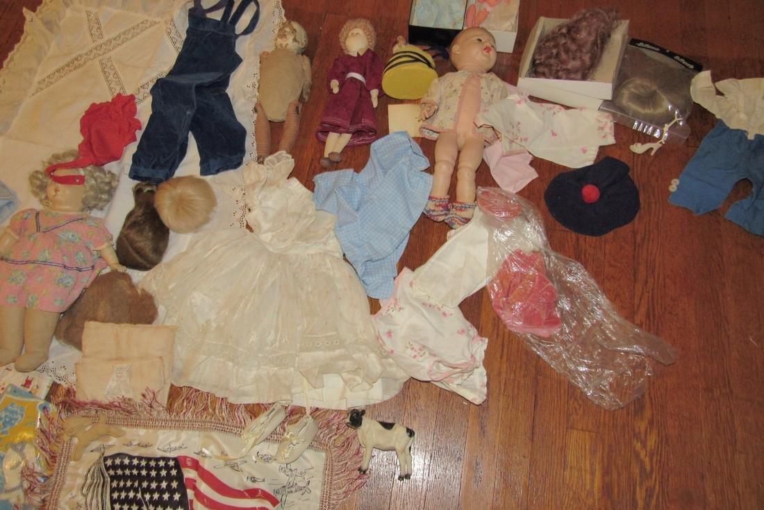 Dolls Clothes Toys Stars Stripes Pillow Case - 6