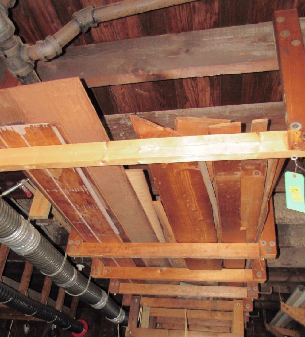 Contents of Garage Scrap Iron Wood Misc - 5