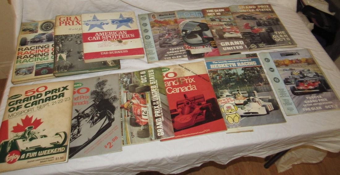 Vintage Grand Prix Racing Programs The Glen Canada