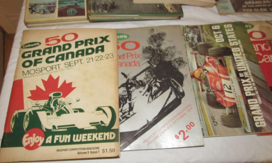 Vintage Grand Prix Racing Programs The Glen Canada - 2