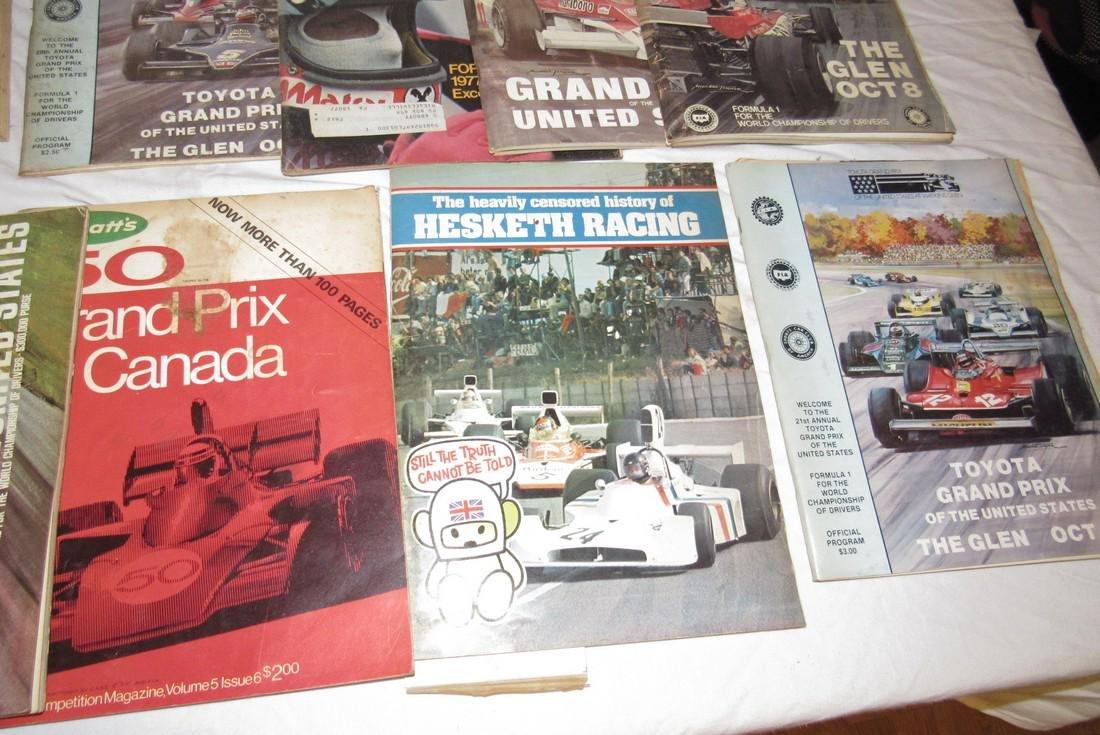 Vintage Grand Prix Racing Programs The Glen Canada - 3