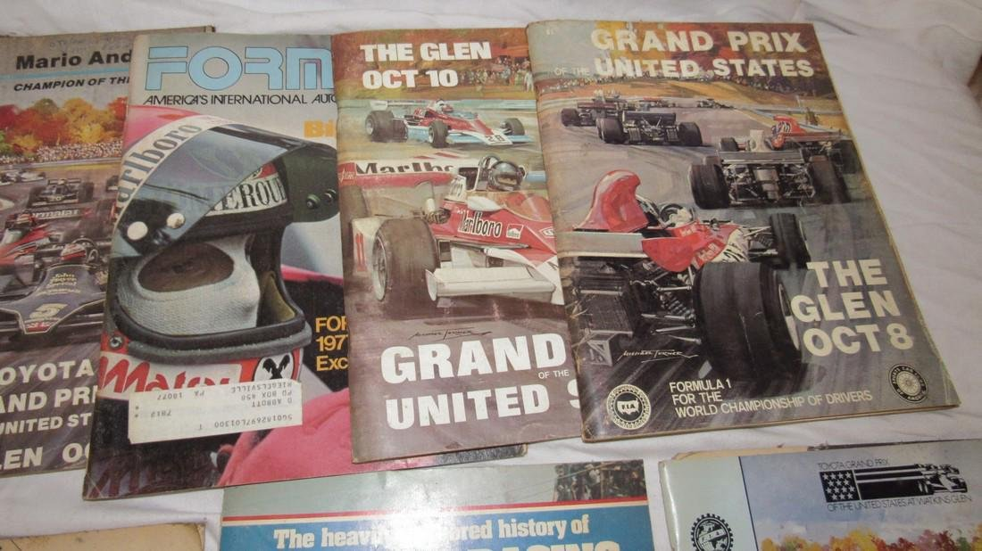 Vintage Grand Prix Racing Programs The Glen Canada - 4
