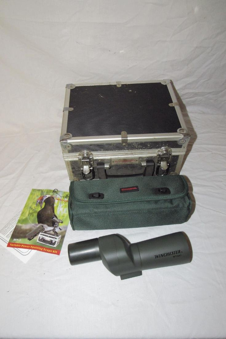 Winchester WT-541 Spotting Scope Case & Tripod