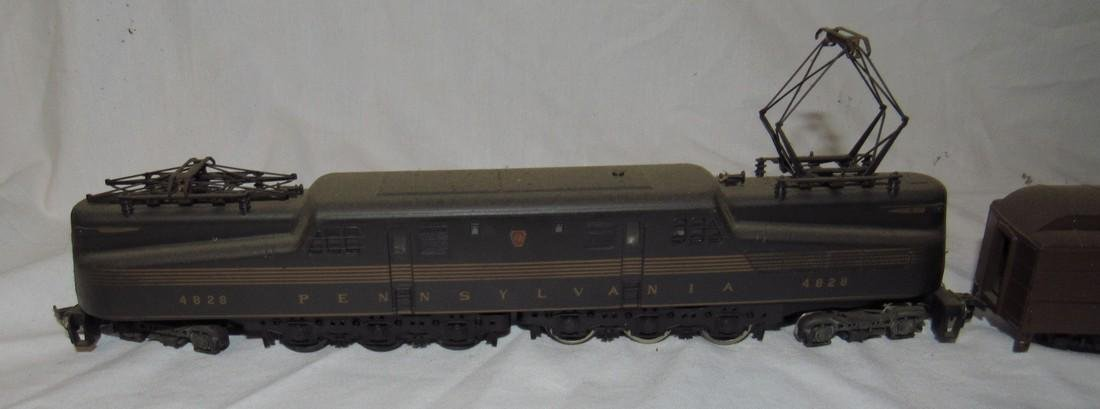 Pennsylvania 4828 Electric Locomotive & Passenger Cars - 2
