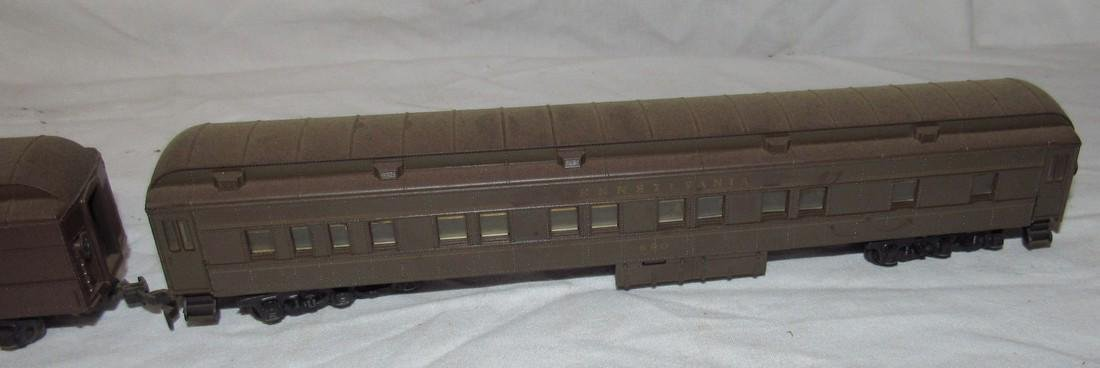 Pennsylvania 4828 Electric Locomotive & Passenger Cars - 4