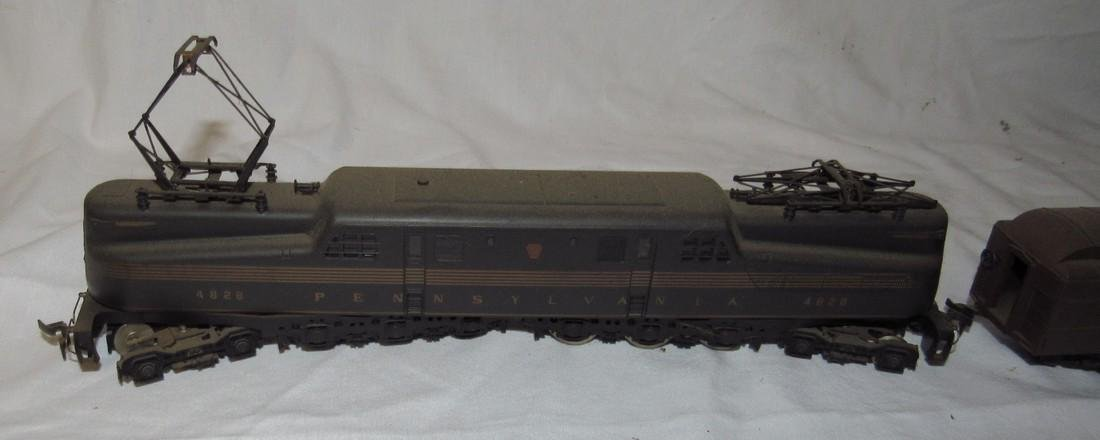 Pennsylvania 4828 Electric Locomotive & Passenger Cars - 5