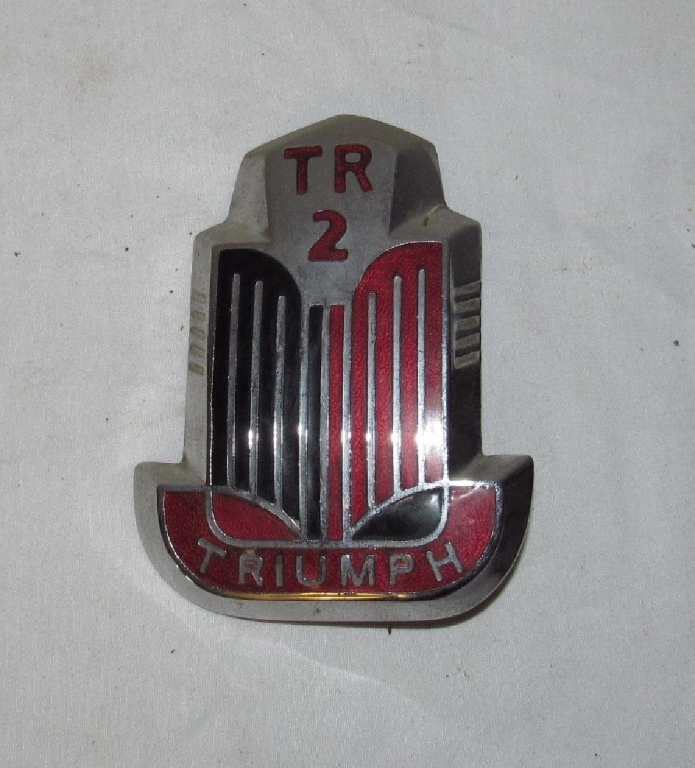 Triumph TR 2 Emblem