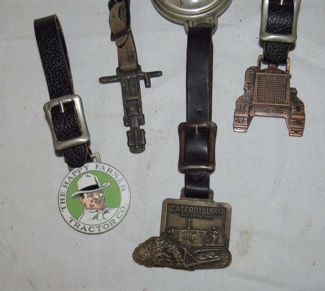 Cletrac Happy Farmer Tractor Co. Caterpillar Watch Fobs - 2