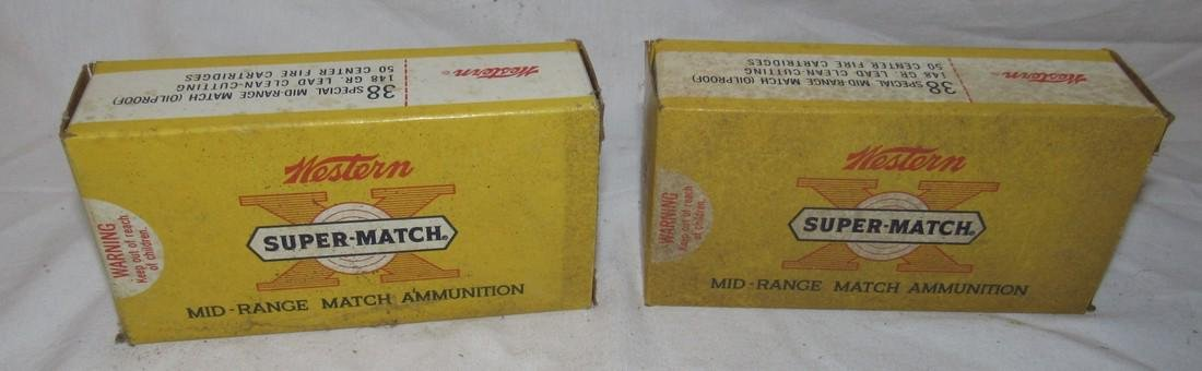 2 Boxes Western 38 Special Mid Range 148 Grain Ammo