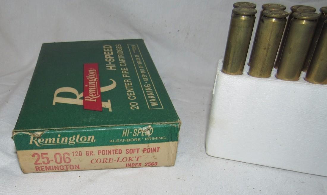 Remington 25-06 120 Grain Ammunition - 2