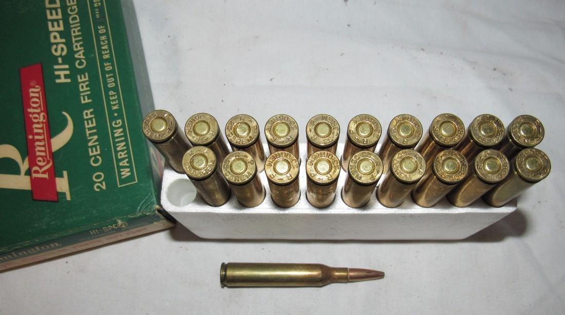 Remington 25-06 120 Grain Ammunition - 3