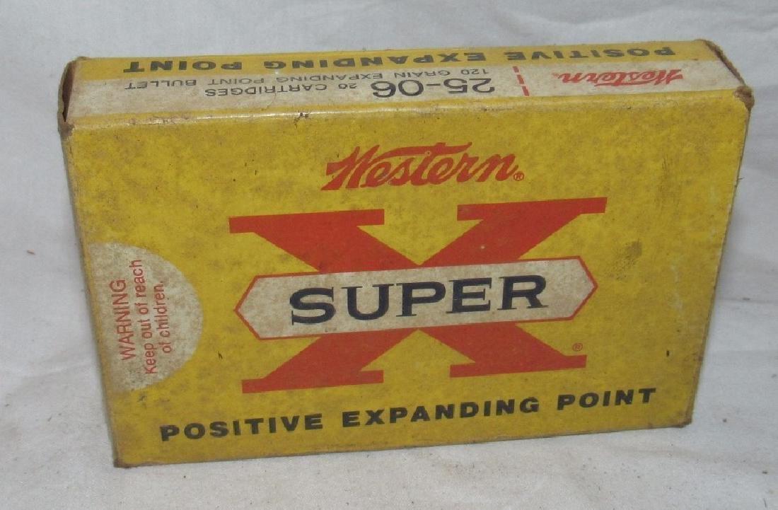 Western Super X 25-06 120 Grain Ammo