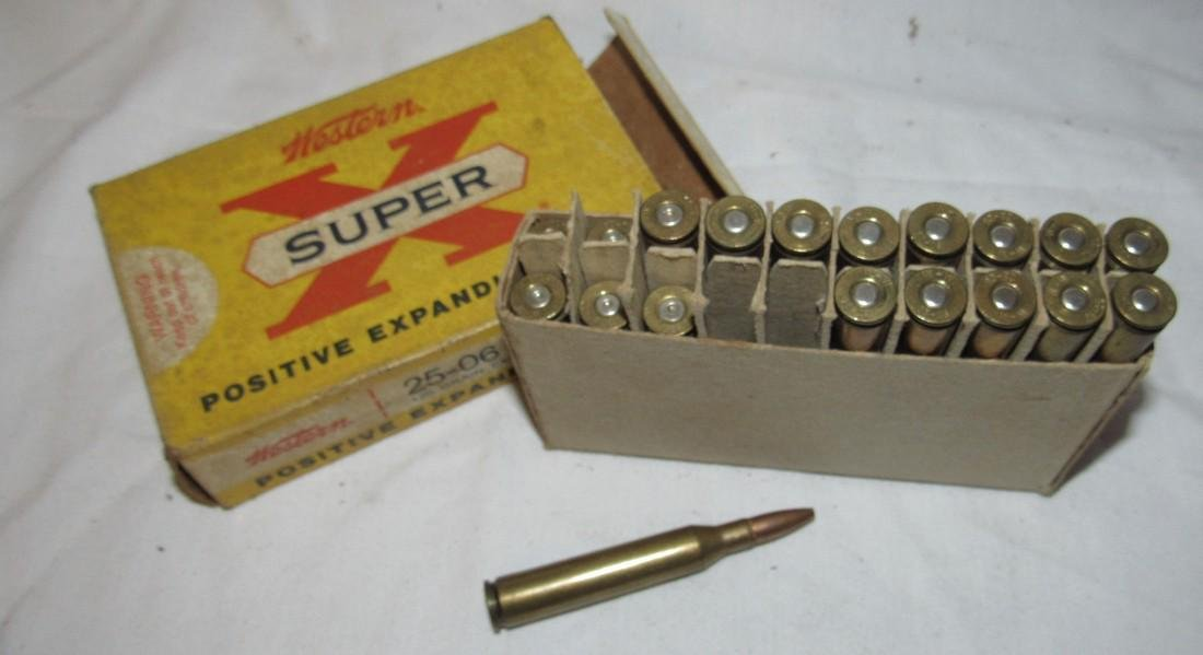 Western Super X 25-06 120 Grain Ammo - 3