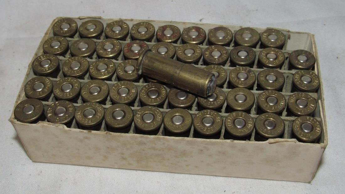 50 Rounds of Federal 38 Special Ammo