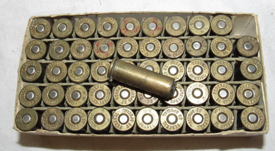 50 Rounds of Federal 38 Special Ammo - 2